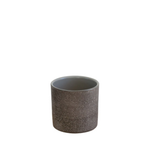 dark grey pot