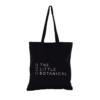 Little Botanical black tote bag