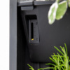Black PlantBox living wall water float indicator